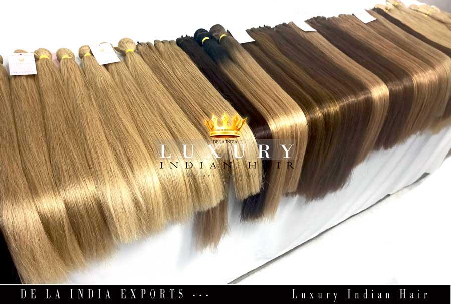 Virgin Hair, Raw hair, Indian hair, hair wefts, Blonde hair, colored hair, hair manufacturer, Indian hair manufacrturer, indian hair factory, double drawn hair, super double drawn hair