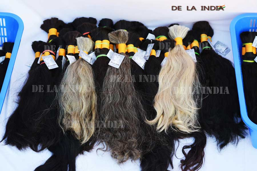 temple hair, indian hair, indian temple hair, raw hair, one donor hair