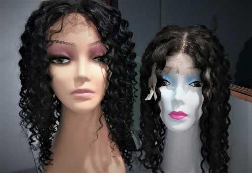 curly wigs, deep culry wigs