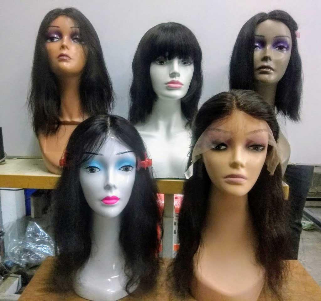 Raw Hair Wigs, Wigs, Indian wigs